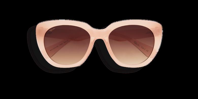 Lunettes de soleil femme CHALINA rose/orange