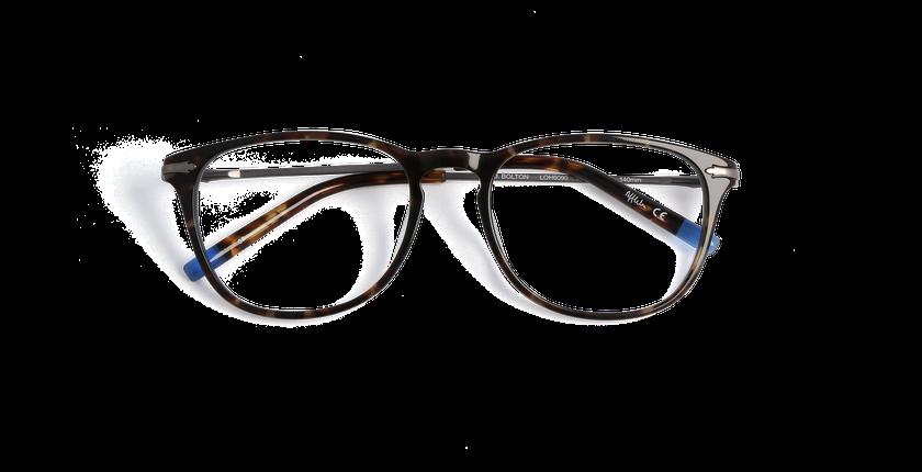 Lunettes de vue homme BOLTON écaille - Vue de face