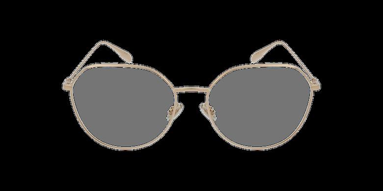 Lunettes de vue femme STELLAIREO15 doréVue de face