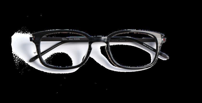 Lunettes de vue homme RODIN noir - Vue de face