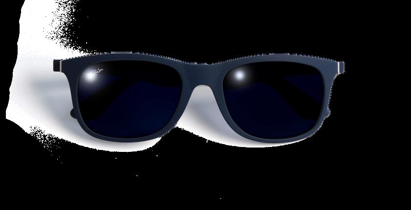 Lunettes de soleil homme AREZZO POLARIZED bleu - Vue de face