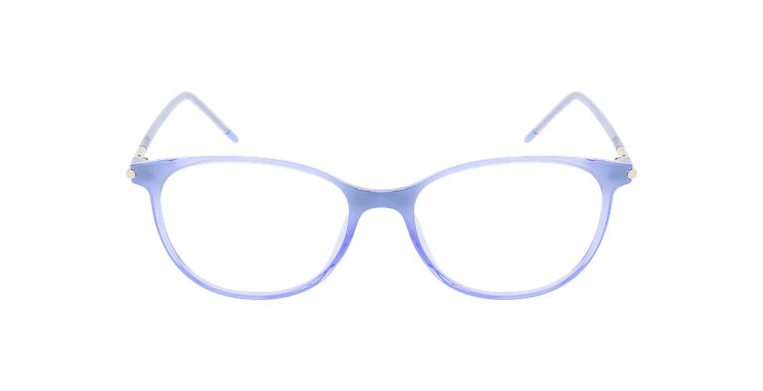Lunettes de vue femme MAGIC 87 violet - Vue de face