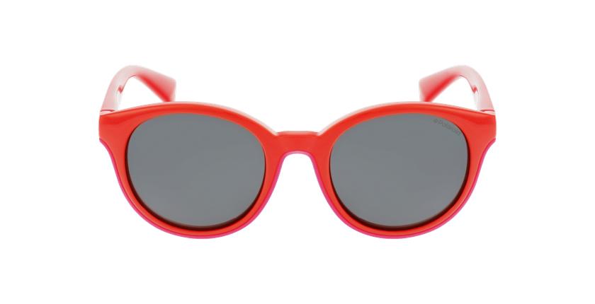 Lunettes de soleil enfant PLD 8036/S rouge - Vue de face