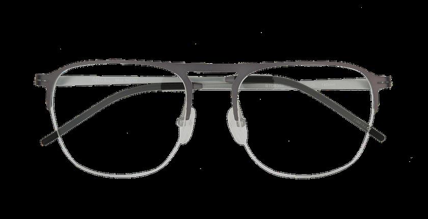 Lunettes de vue homme NEON gris/argenté - Vue de face