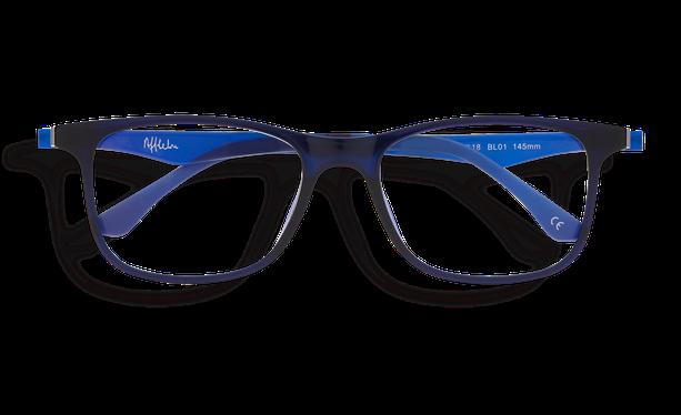Lunettes de soleil homme MAGIC 24 BLUEBLOCK bleu - danio.store.product.image_view_face