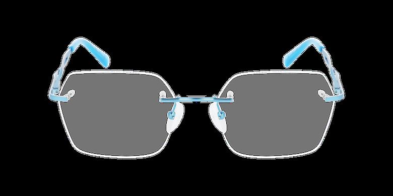 Lunettes de vue femme IDEALE-33 turquoiseVue de face