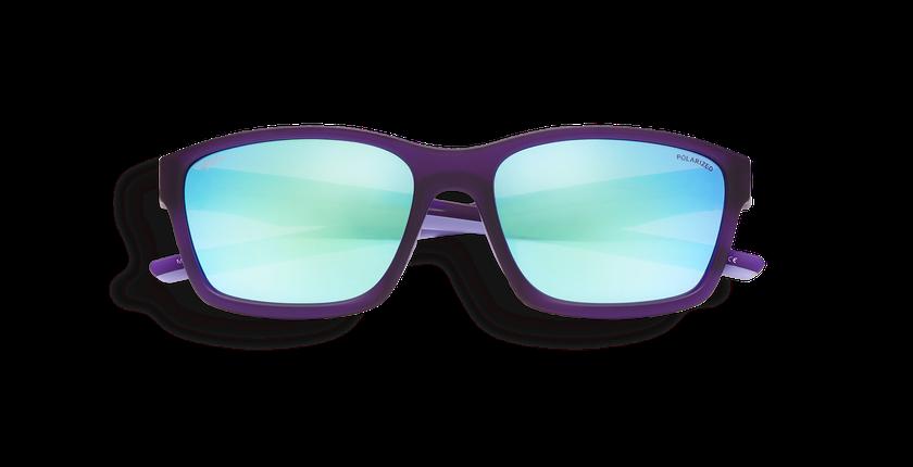 Lunettes de soleil femme MIKE violet - Vue de face