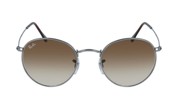 Lunettes de soleil homme ROUND METAL gris - danio.store.product.image_view_face