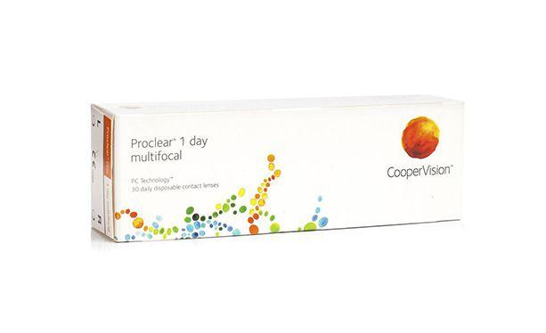 Lentilles de contact Proclear® 1day Multifocal 30L - Vue de face