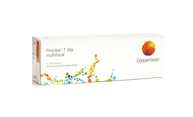 Lentilles de contact Proclear® 1day Multifocal 30L - Vue de face