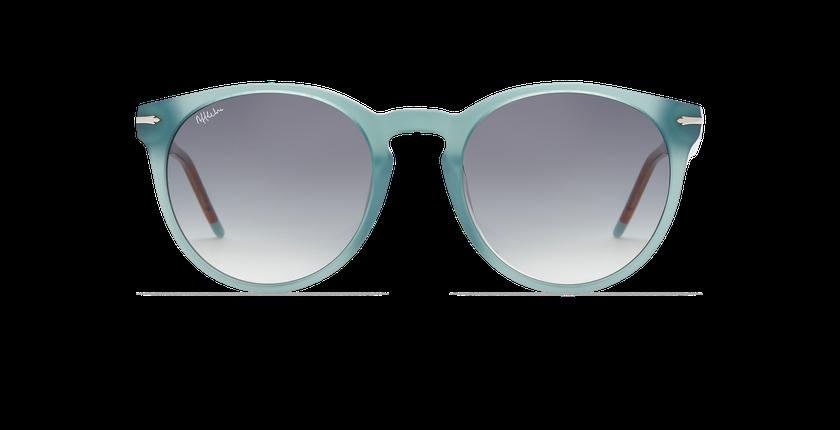 Lunettes de soleil femme STACY bleu - Vue de face