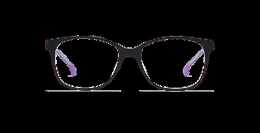 Lunettes de vue femme DOTTIE violet - Vue de face