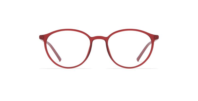 Lunettes de vue femme LIGHT TONIC rouge - Vue de face