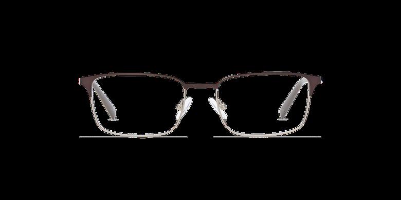 Lunettes de vue homme ALPHONSE marron/bleuVue de face