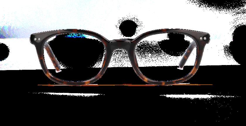 Lunettes de vue femme STEPHANIE écaille - Vue de face