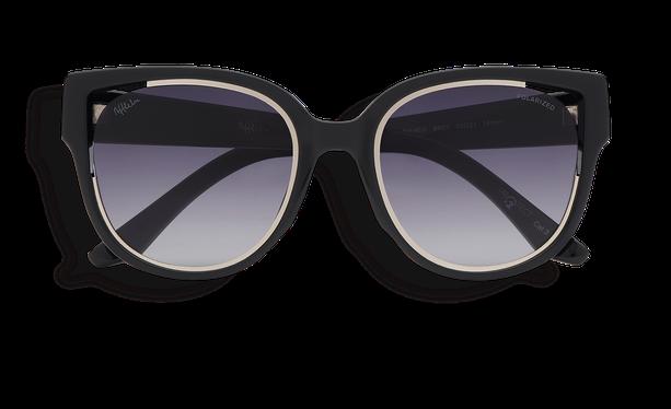 Lunettes de soleil femme MAHEA POLARIZED noir/argenté - danio.store.product.image_view_face