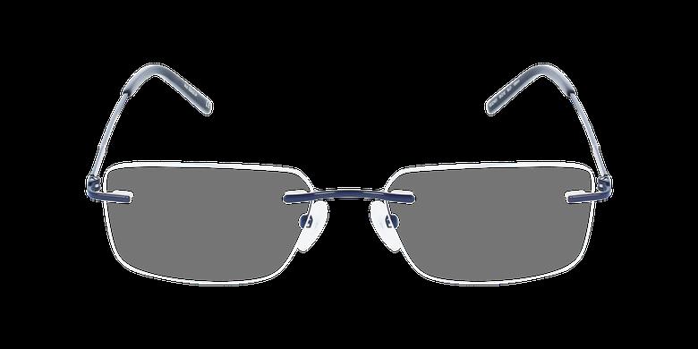 Lunettes de vue homme IDEALE-24 bleuVue de face