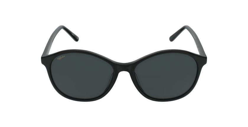 Lunettes de soleil femme COLINE noir - Vue de face