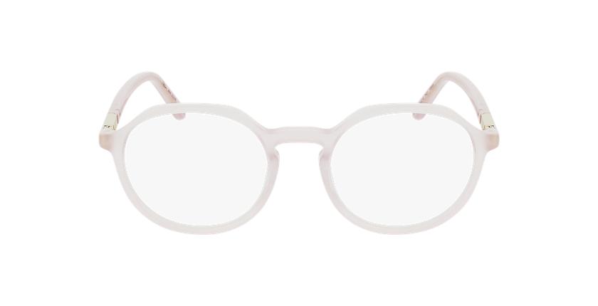 Lunettes de vue femme COLINE rose - Vue de face