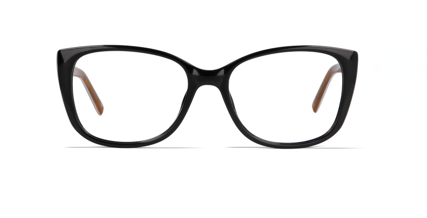 Lunettes de vue femme GRACE noir - Vue de face
