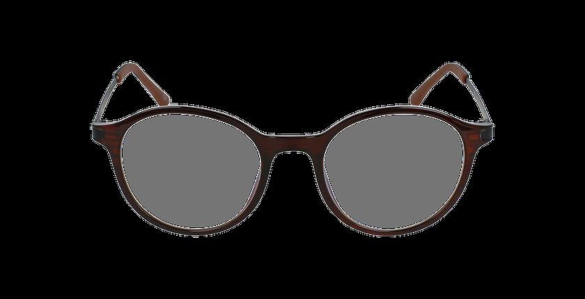 Lunettes de vue femme MAGIC 37 BLUEBLOCK marron - Vue de face