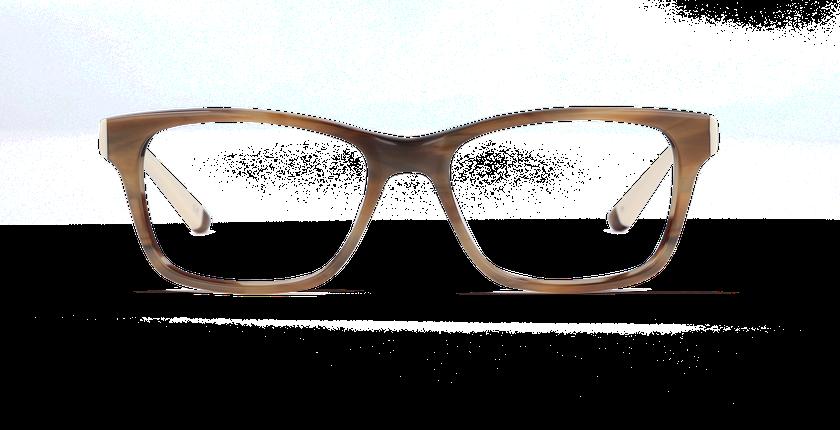 Lunettes de vue femme STONE marron/marron - Vue de face