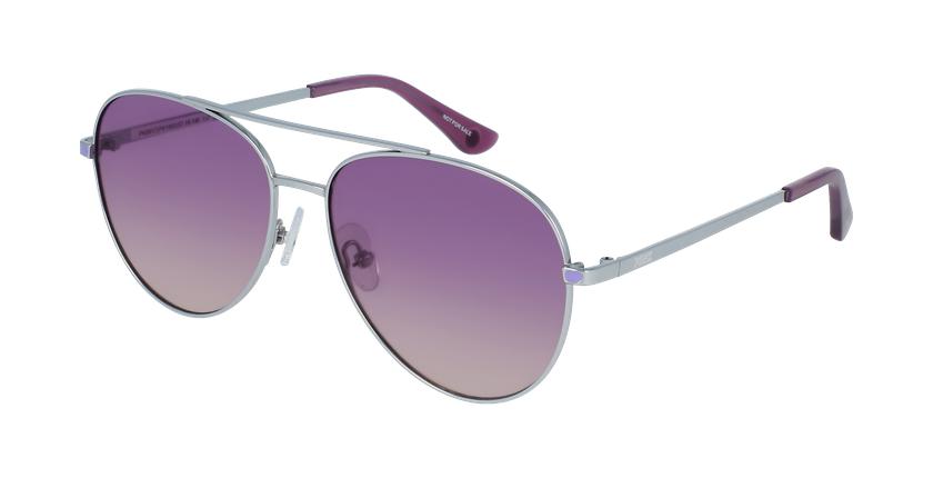 Lunettes de soleil femme PK0017 violet - vue de 3/4