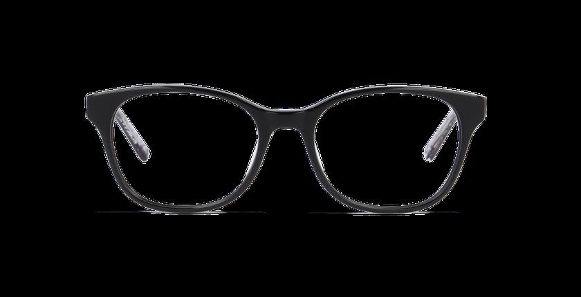 Lunettes de vue femme ZELIA noir - Vue de face