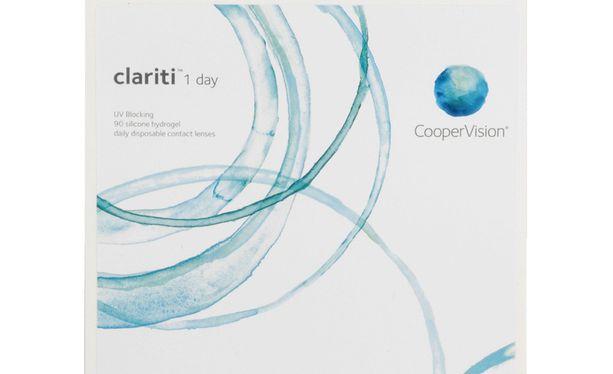 Lentilles de contact Clariti 1 Day 90L - Vue de face