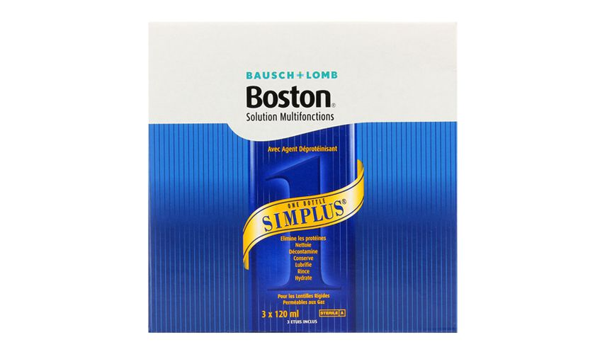 Boston Simplus 3x120ml - Vue de face