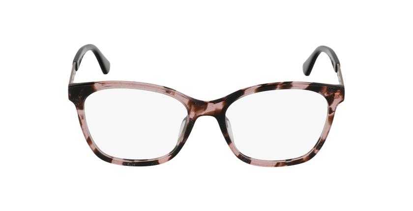Lunettes de vue femme GU2743 écaille/rose - Vue de face