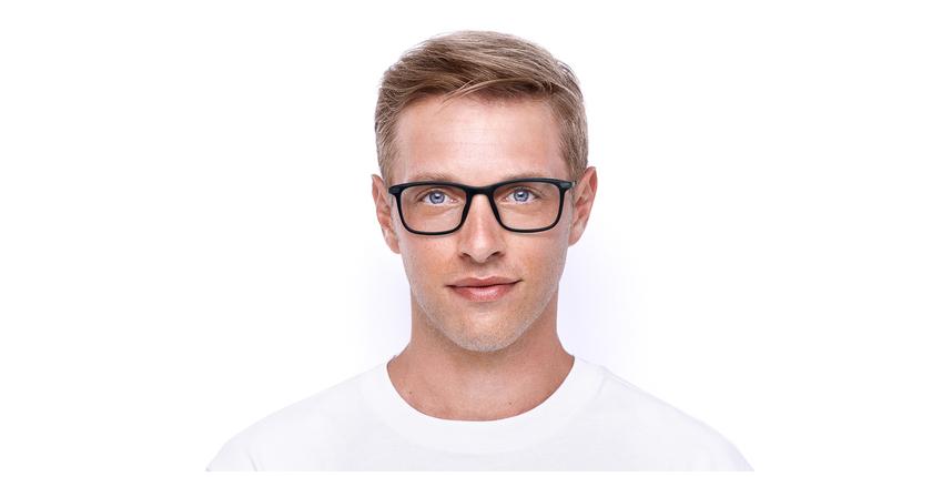 Lunettes de vue homme MARIUS bleu - Vue de face