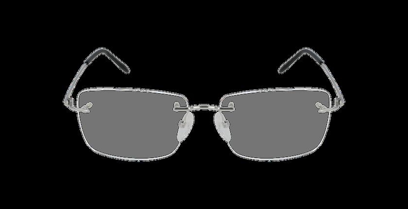 Lunettes de vue homme IDEALE-06 argenté - Vue de face