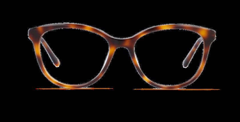 Lunettes de vue femme CALISTA écaille - Vue de face