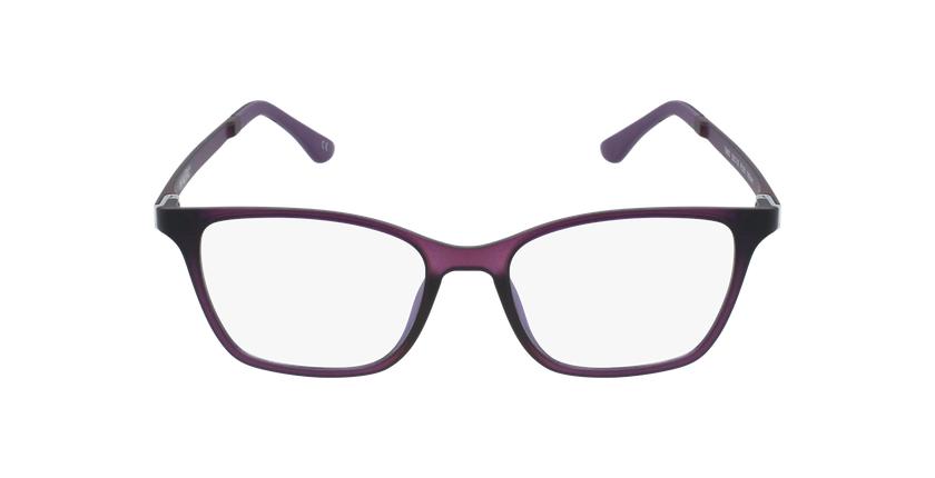 Lunettes de vue femme MAGIC 60 violet - Vue de face