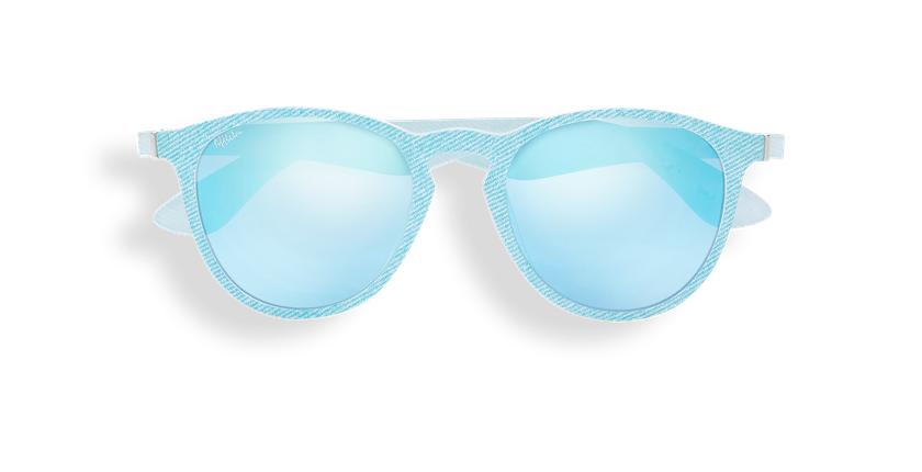 Lunettes de soleil femme VARESE bleu/blanc - Vue de face