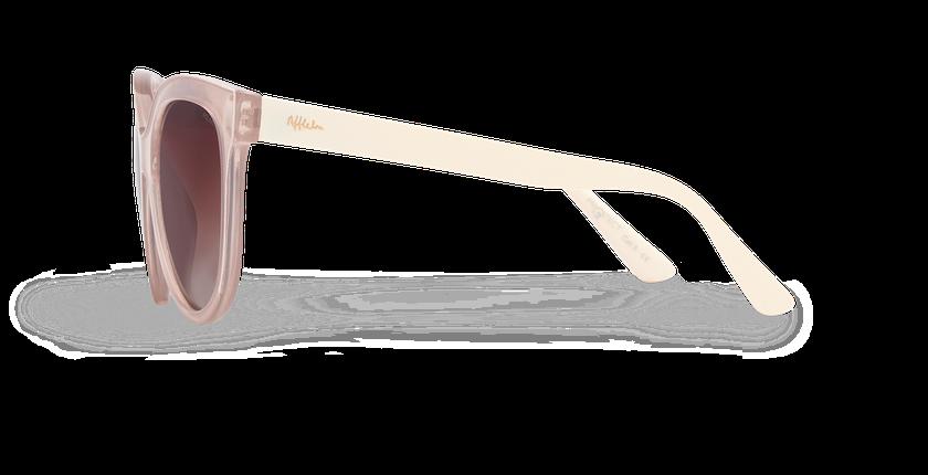 Lunettes de soleil femme AMANA POLARIZED rose/blanc - Vue de côté