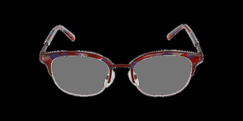 Lunettes de vue BEKSINSKI rougeVue de face