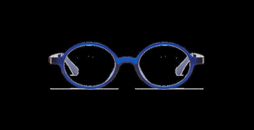Lunettes de vue enfant SMART TONIC 13 bleu - Vue de face