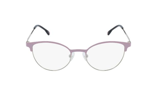 Lunettes de vue femme MAGIC 54 rose/doré - Vue de face