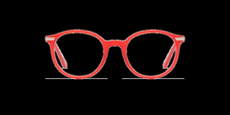 Lunettes de vue homme BENJAMIN rouge