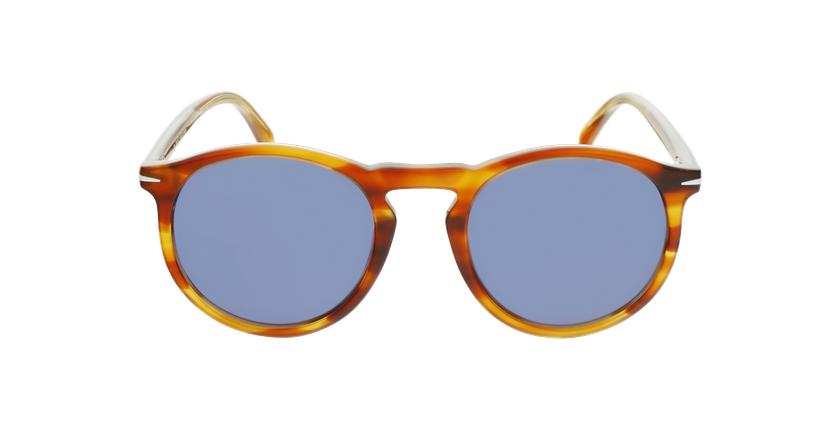 Lunettes de soleil homme DB 1009/S marron - Vue de face