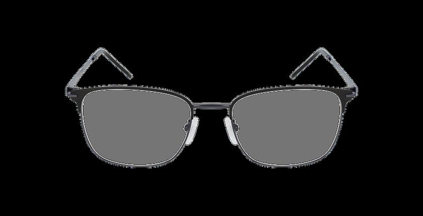 Lunettes de vue homme URANUS gris/noir - Vue de face