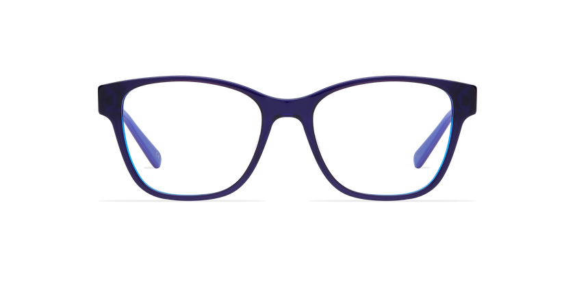Lunettes de vue femme KIERA bleu - Vue de face