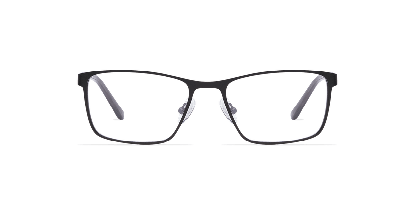 Lunettes de vue homme CYPRIEN noir - Vue de face