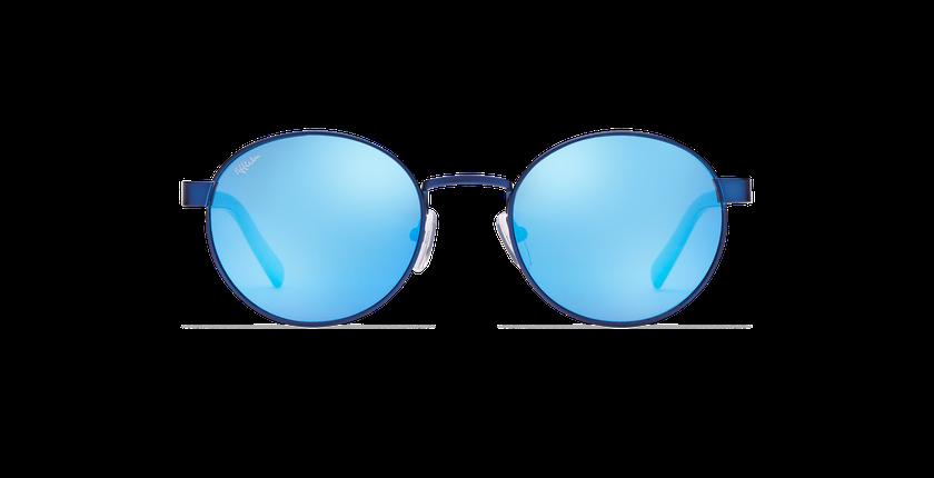 Lunettes de soleil femme TUTTI bleu - Vue de face