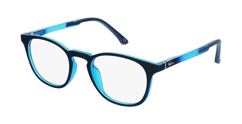 Lunettes de vue enfant MAGIC 79 ECO-RESPONSABLE bleu/turquoise - vue de 3/4