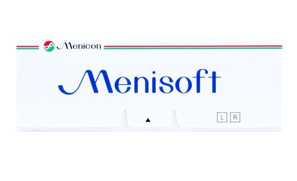 Lentilles de contact Menisoft 3L - Vue de face