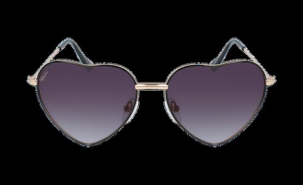 Lunettes de soleil femme CORAZON noir - danio.store.product.image_view_face
