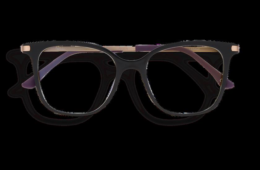 Lunettes de vue femme MAGIC 28 BLUEBLOCK noir - danio.store.product.image_view_face